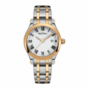 Saint-Tropez 31 mm Steel and Pink Gold